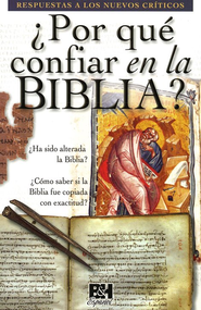 ¿Por qué confiar en la Biblia? - Pamfleto  (Why Trust the Bible? Pamphlet)  -     By: Holman Bible Editorial Staff