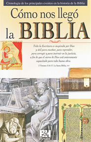 Cómo Nos Llegó la Biblia  (How We Got the Bible)  -              By: Holman Bible Editorial Staff