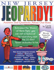 New Jersey Jeopardy, Grades K-8  -     By: Carole Marsh
