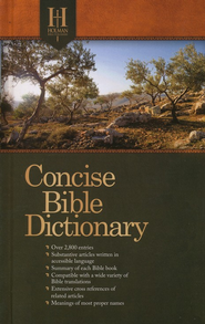 Holman Concise Bible Dictionary  -