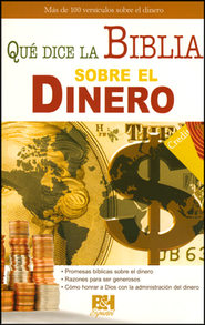 Qué Dice la Biblia Sobre el Dinero, Pamfleto  (What Does the Bible Say about Money? Pamphlet)  -