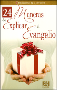 24 Maneras de Explicar el Evangelio, Pamfleto  (24 Ways to Explain the Gospel Pamphlet)  -