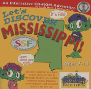 Let's Discover Mississippi CD-ROM, Grades 2-8   -     By: Carole Marsh