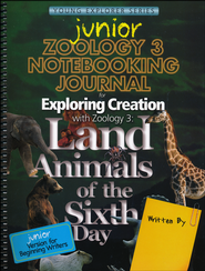 Exploring Creation with Zoology 3 Junior Notebooking Journal  -     By: Jeannie Fulbright