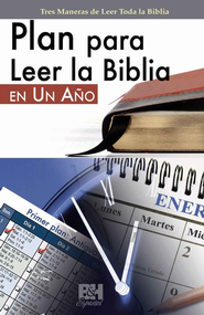 Plan para Leer la Biblia en un Año, Pampfleto  (One-Year Bible Reading Plan Pamphlet)  -