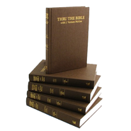 Thru the Bible, 5 Volumes   -     By: J. Vernon McGee