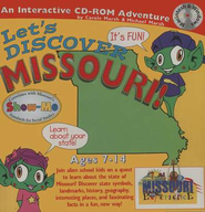 Let's Discover Missouri CD-ROM, Grades 2-8   -     By: Carole Marsh