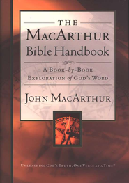 The MacArthur Bible Handbook - Slightly Imperfect  -              By: John MacArthur