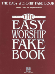 The Easy Worship Fake Book   -