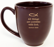 All Things Possible Mug  -