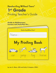 My Printing Book Grade 1 Teacher's Guide   -