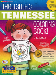 Tennessee Coloring Book, Grades PreK-3  -     By: Carole Marsh