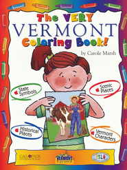 Vermont Coloring Book, Grades PreK-3  -     By: Carole Marsh
