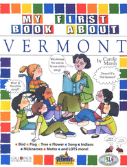 Vermont My First Book, Grades K-8  -     By: Carole Marsh