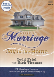 Drive by Marriage: 33 Marriage Lessons...Before You Get to Work Every Day, 8 CD Set  -              By: Todd Friel, Rick Thomas