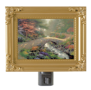 Bridge of Faith, Nightlight   -              By: Thomas Kinkade