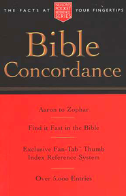Pocket Bible Concordance  -