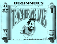 Beginner's Teacher Visuals 27-52 - Slightly Imperfect  -     By: Mary Baker