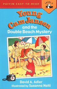 Young Cam Jansen and the Double Beach Mystery #8  -     By: David A. Adler     Illustrated By: Susanna Natti