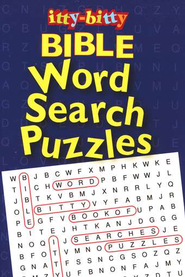 Itty Bitty Bible Word Search Puzzles--Ages 7 and up   -