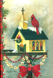 Christmas Cardinal Journal  -     By: Sandy Clough