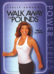 Walk Away the Pounds: Walk and Kick, DVD   -     By: Leslie Sansone