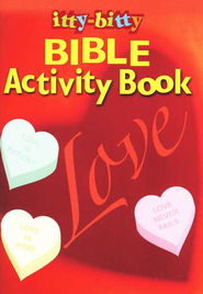 Love, Itty Bitty Activity Book  -