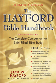 The Hayford Bible Handbook - Slightly Imperfect  -     By: Jack W. Hayford