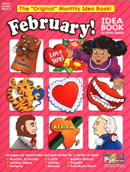 February Monthly Idea Book  -