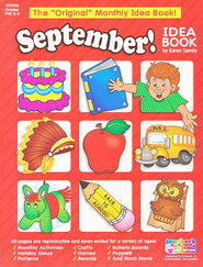 September Monthly Idea Book  -