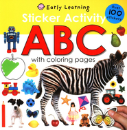 Sticker Activity ABC  -     By: Roger Priddy