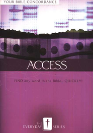 Everyday Access: Your Bible Concordance  -