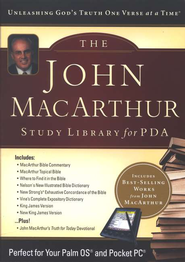The John MacArthur Study Library for PDA  -     By: John MacArthur