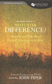 What's the Difference? Manhood and Womanhood Defined According to the Bible, Study Guide - Slightly Imperfect  -