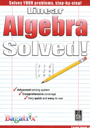 Linear Algebra Solved! CD-Rom   -