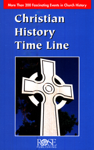 Christian History Time Line Pamphlet: 200 Fascinating Events in Church History  -