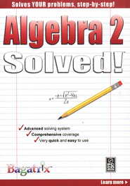 Algebra 2 Solved! CD-Rom   -