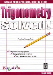 Trigonometry Solved! CD-Rom   -