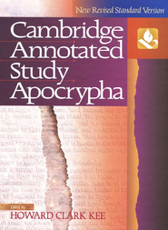 NRSV Cambridge Annotated Study Apocypha Hardcover  -              By: Howard Clark Kee