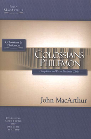 Colossians & Philemon, John MacArthur Study Guides   - Slightly Imperfect  -