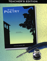 The Art of Poetry Teacher's Edition  - Slightly Imperfect  -     By: Christine Perrin