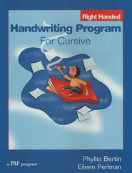 Handwriting Program for Cursive (right-handed)   -     By: Phyllis Bertin, Eileen Perlman