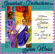 Julius Caesar and the Story of Rome Audio CD   -     By: Jim Weiss