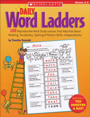 Daily Word Ladders: Grades 2-3  -              By: Timothy Rasinski