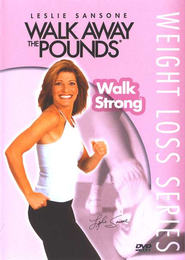 Walk Strong, DVD   -     By: Leslie Sansone
