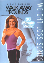 30 Minute Walk, DVD   -     By: Leslie Sansone