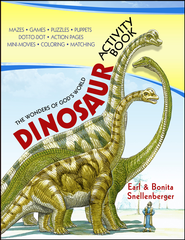 Dinosaur Activity Book  -     By: Earl Snellenberger
