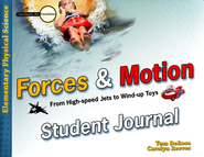Forces and Motion: Student Journal  -     By: Tom DeRosa, Dr. Carolyn Reeves