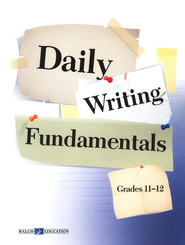 Daily Writing FUNdamentals, Grades 11-12   -