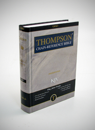 KJV Thompson Chain-Reference Bible, Hardcover, Thumb Indexed   -